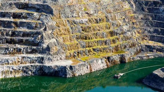The Ranger uranium mine in Kakadu National Park, Australia