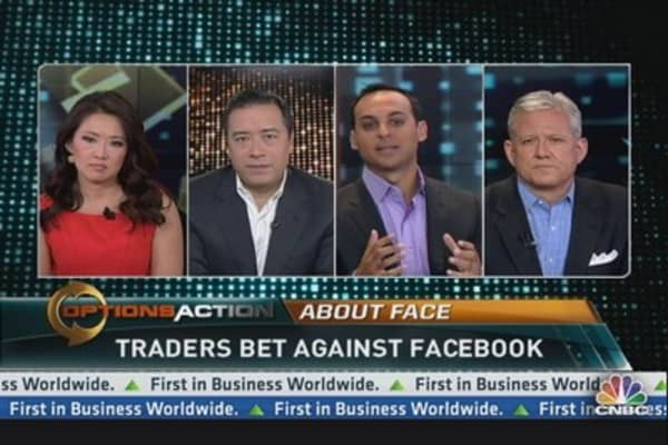 Bearish Facebook trades mount