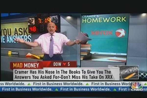 Cramer's Homework: Xerox a buy?