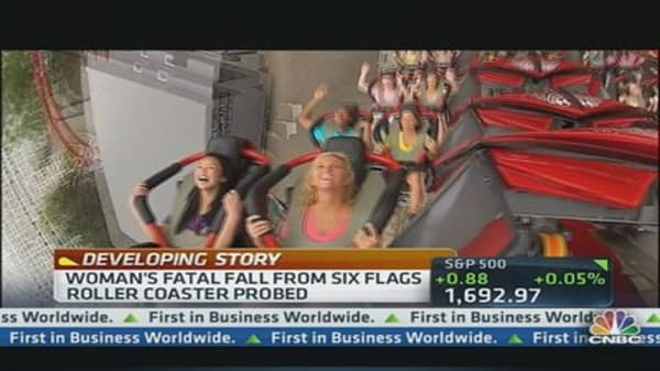 Six Flags ride closed after woman's death