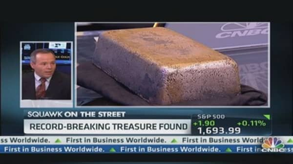 Some $36 million in silver found under the sea