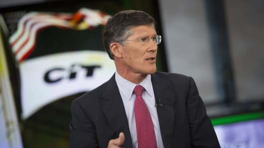 John Thain, chief executive officer of CIT Group Inc.