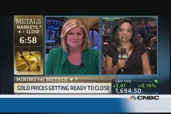 Gold breaks above $1,300