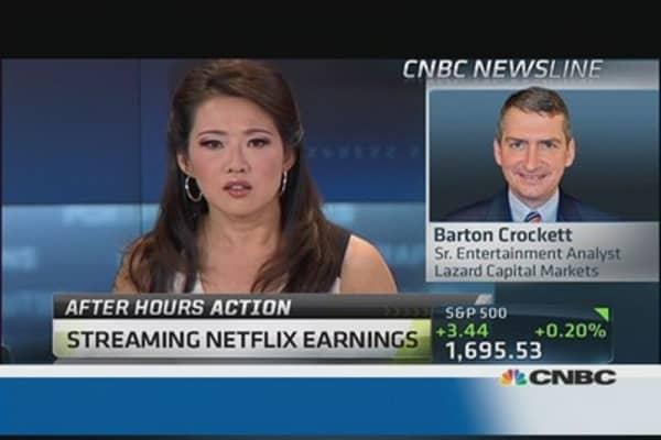 Netflix reports weak forecast