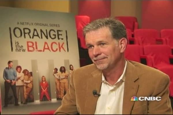 Netflix CEO Hastings on Emmys, earnings