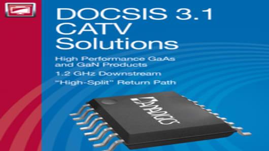 ANADIGICS DOCSIS 3.1 CATV Solutions