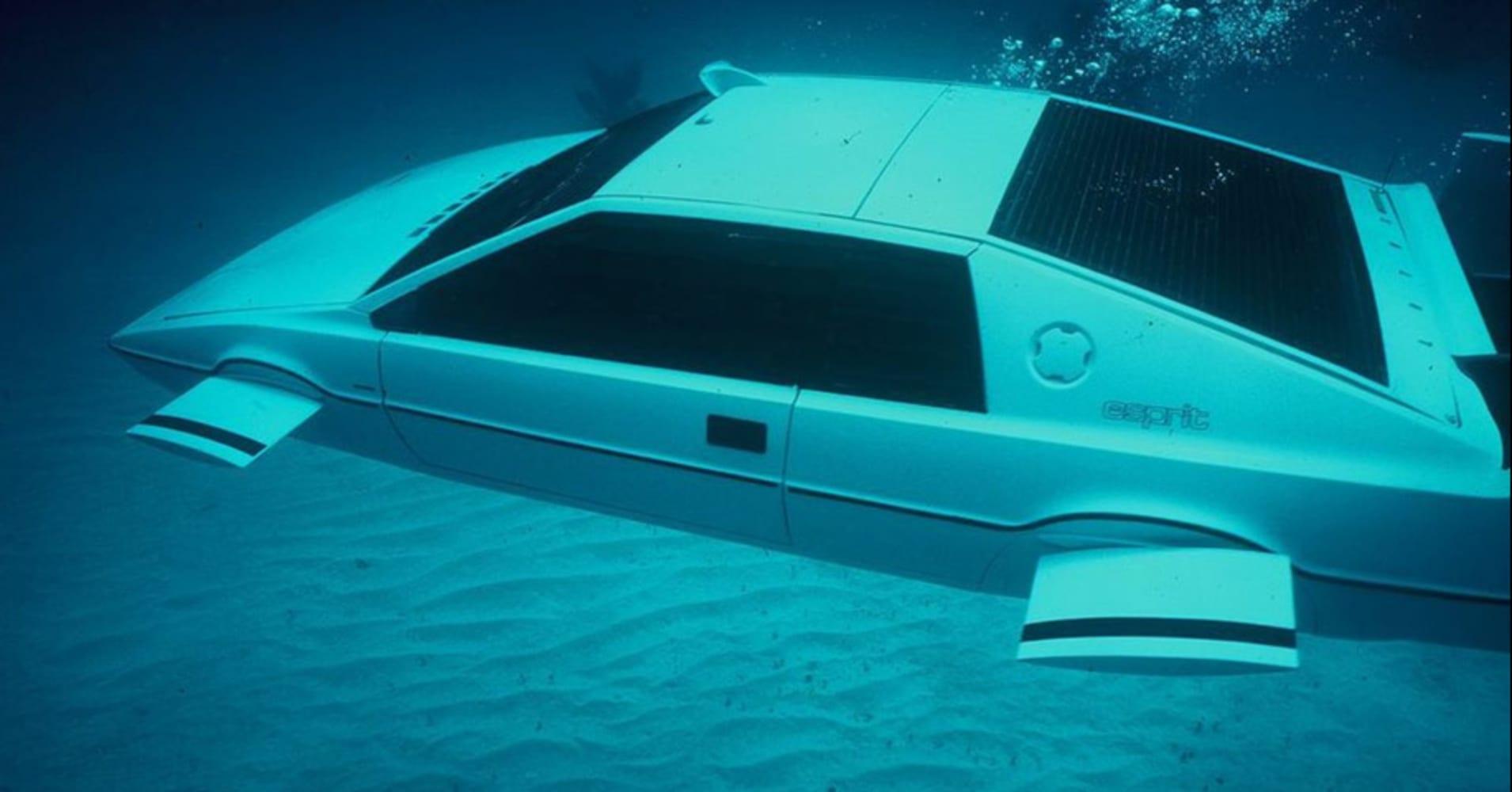 Image result for james bond underwater car