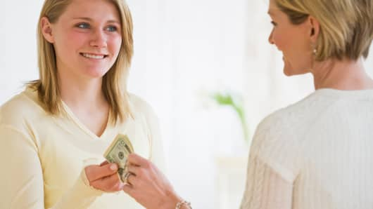 Teenager allowance financial education