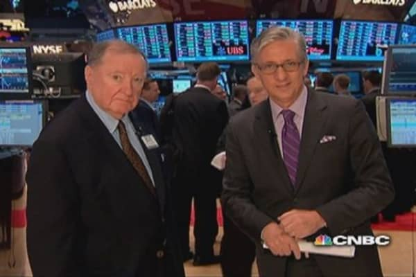 90 seconds with Art Cashin: We're way overbought