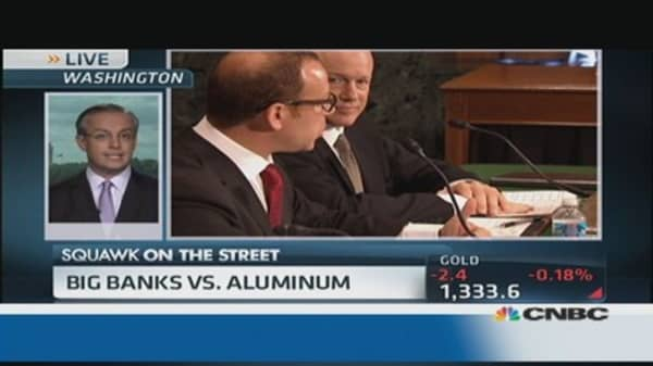 Is Goldman really manipulating aluminum?