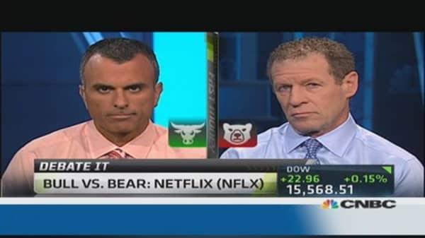 Bull vs. Bear: Netflix