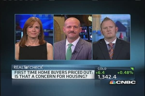First-time home buyers priced out