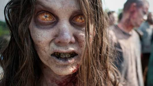 "Walkers from ""The Walking Dead"""