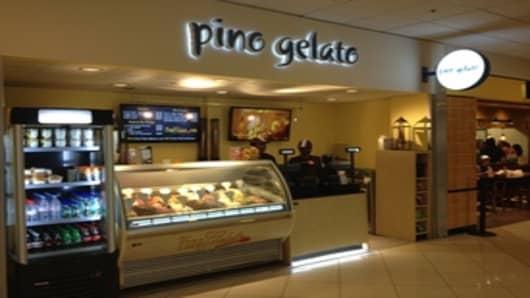 Pino Gelato in Atlanta Airport