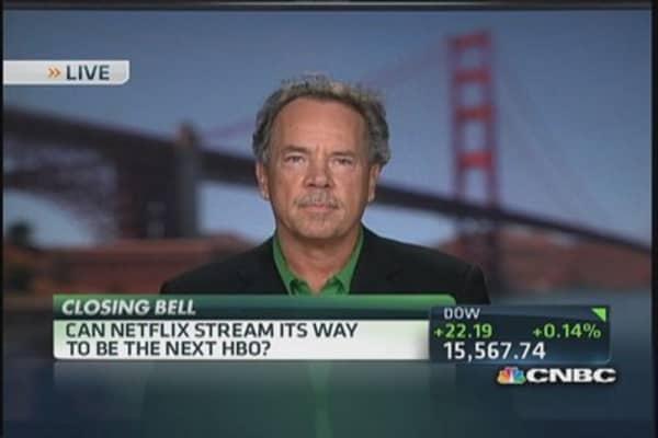 Netflix not HBO ... yet