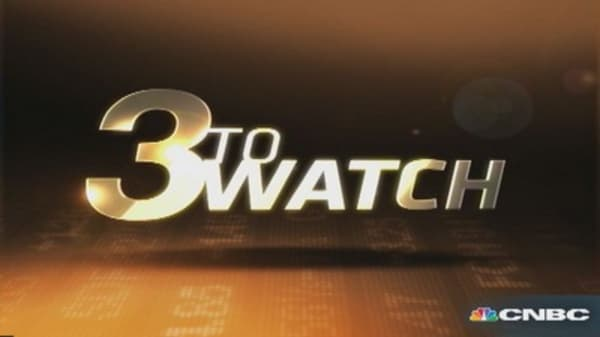 3 to Watch: BA, CAT, FB