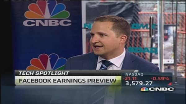 Digging into FB ahead of earnings