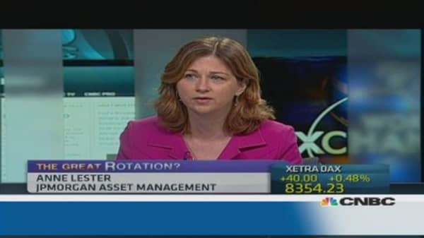 'Great Rotation' from bonds to equities
