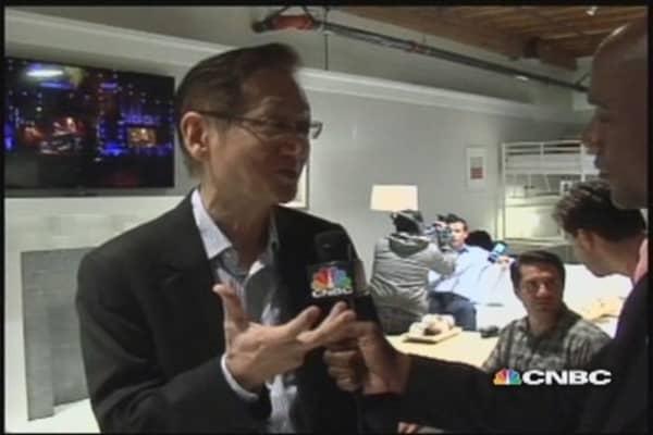 Asus CEO on Nexus 7 tablet
