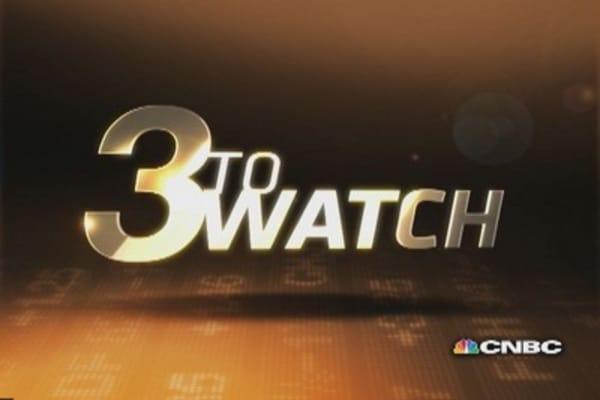 3 to Watch: GM, AMZN, SBUX