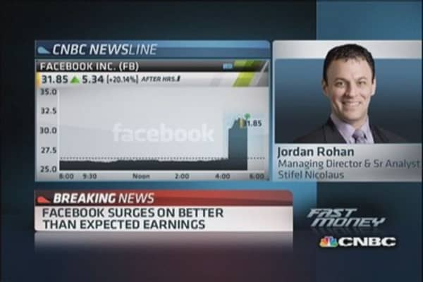 Facebook 'to be elevated' again: Pro