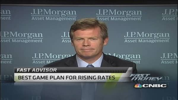 Best game plan for rising rates: Pro
