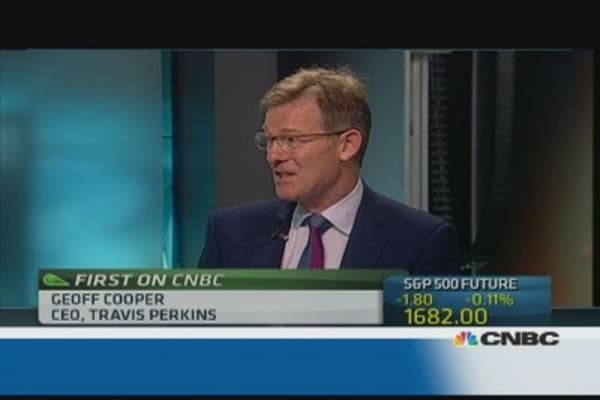 Travis Perkins bounced back in Q2: CEO