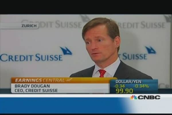 Credit Suisse CEO: We see signs of stability
