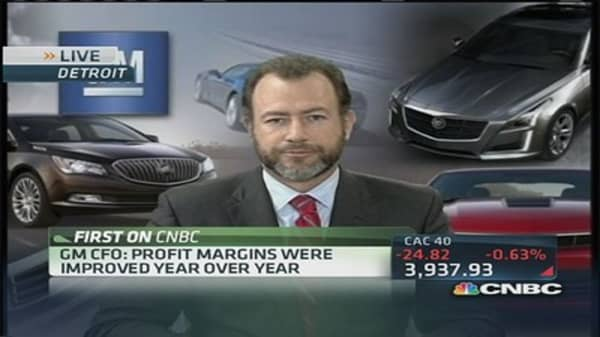 GM's earnings reaction