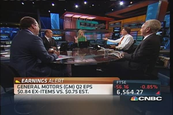 GM delivers solid earnings beat