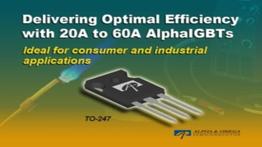 20A to 60A AlphaIGBTs
