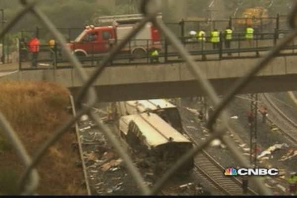 Train accident in Spain kills 77