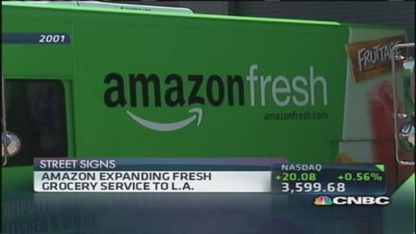 Will Amazon deliver the bacon?