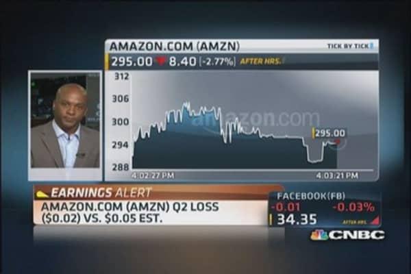 Amazon reports Q2 earnings