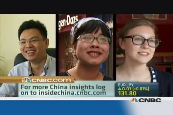 What do Americans and Chinese think of each another?