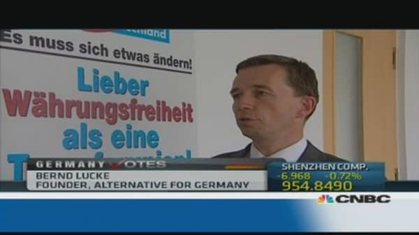 Is the Alternative for Germany party a threat?