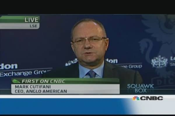 Anglo American CEO: We're not cutting costs for the market