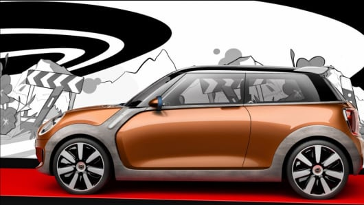 Mini Vision concept car.