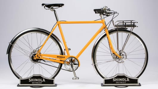 Shinola bicycle