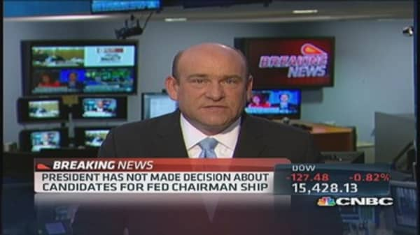 WH official: No decision on Bernanke's successor