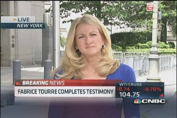 Tourre completes testimony