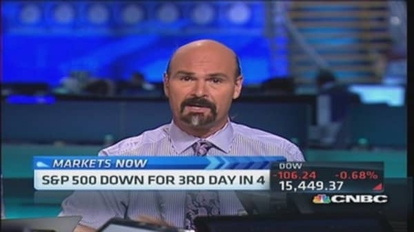 'The market's just tired,' pro says