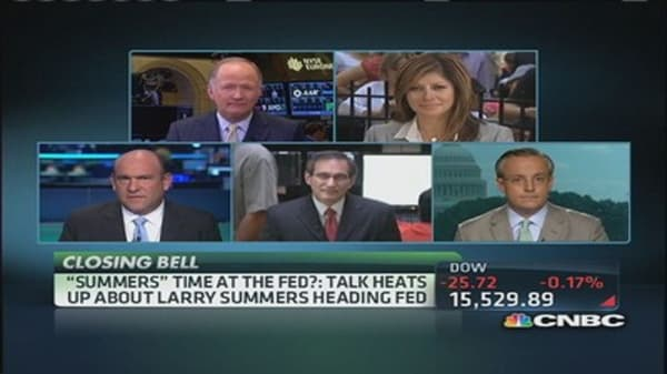 'Summers' time at the Fed?