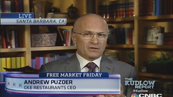 CKE CEO on Obamacare & jobs