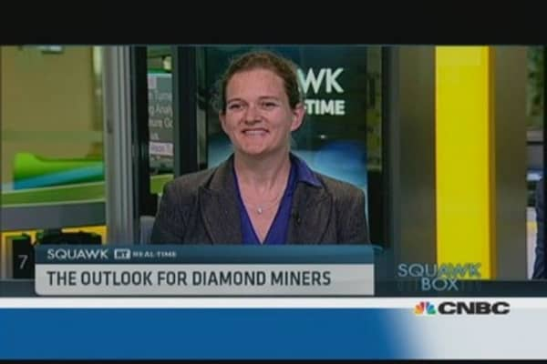 Diamonds Are Exposed to US Recovery: Pro