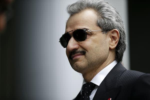 Prince Alwaleed Bin Talal, Saudi billionaire and founder of Kingdom Holding Co.