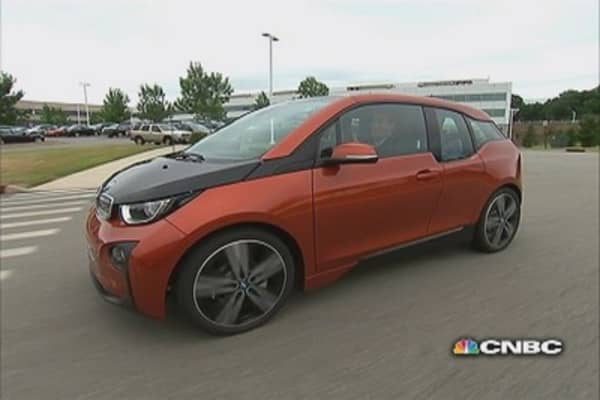 LeBeau: New BMW i3 test drive