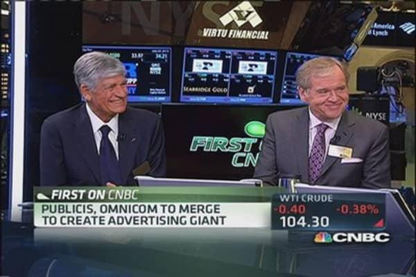 $35.1 billion mega-merger in the ad world