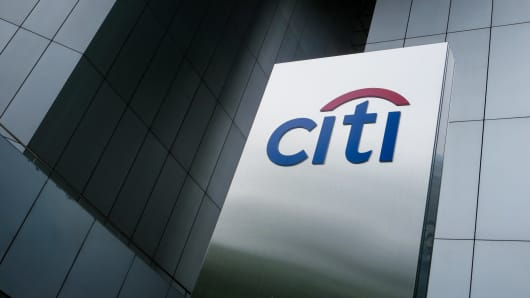 Citigroup offices in New York City.