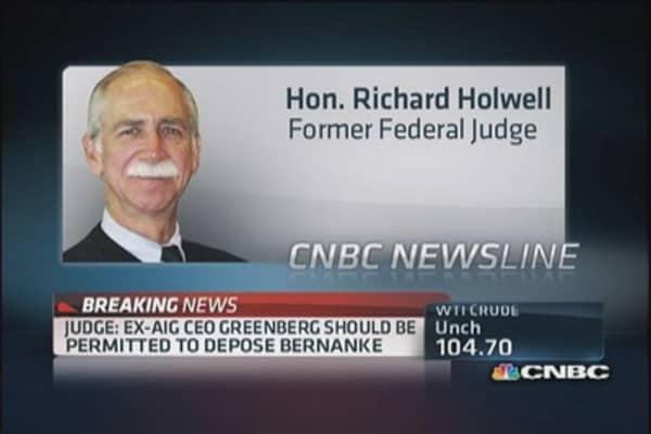 Will Bernanke take the stand?